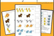 Pre-K & Kindergarten Printable and more.