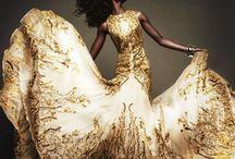 gold+white