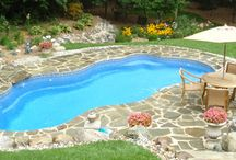 Get Out of the Stone Age with a Fiberglass Pool / It's time to Get Out of The Stone Age! Find out what makes Latham's in-ground fiberglass pools a smarter choice than old-fashioned concrete pools.