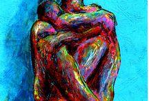 Marian Lupu LUPINO - NUDA / painting,graphics,crochiu