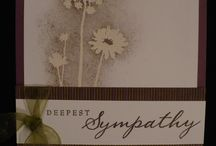 Cards - Sympathy / by Christine Rempel