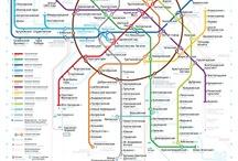 Metro / Tube maps