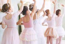 Tiny Dancers / Inspiration for wee ballet folk illustration
