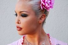 Hair  / I love Flower clips and picks for your hair....you don't have to be getting married or be at the beach to wear a flower! / by Stacie Smith-Ocker