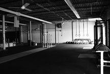 Gym studio decor