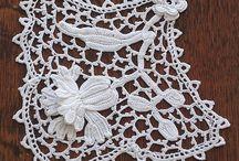 Irish Crochet / Irish crochet patterns and inspiration