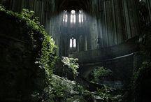 Abandoned and ruins