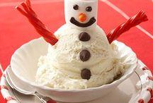 Snowman Ice Cream / by Laloo's Goat Milk Ice Cream