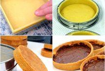 base de pâtes à tarte