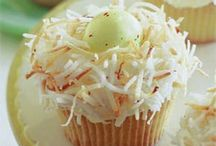 Easter egg cup cake