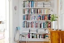 Home Styling: Libraries, Book Cases, Shelves & Book Nooks