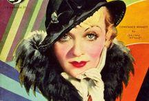 Vintage Movie Magazines / The historical look of Movie Land