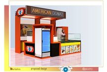 Booth & Product track / Display, Showcase, Booth, exhibition