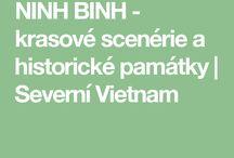 Ninh Binh - krasové scenérie a památky
