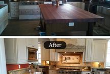 Before and After Granite Countertops