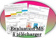 évaluations maternelle