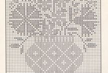 Cross stitch or crochet / Patterns those fit both
