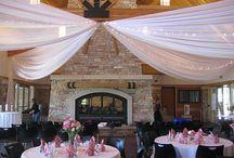 Elm Creek Chalet / Event Decor at Elm Creek Chalet! We Love our Venues!