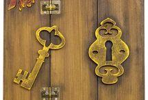 Porta Chave e Cartas