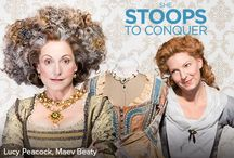 #sfConquer /  If the beau she admires is too shy to talk to her, what's the daughter of a country squire to do? Pretend she's a barmaid, of course. From the elegant 18th century comes a classic comedy that the whole family will love.  Lucy Peacock as Mrs. Hardcastle  Joseph Ziegler as Mr. Hardcastle Maev Beaty as Kate Hardcastle Sara Farb as Constance Neville Tyrone Savage as Hastings