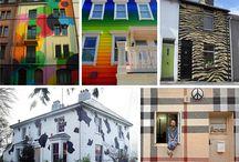 Colorful Houses / by Indigo Friedlander