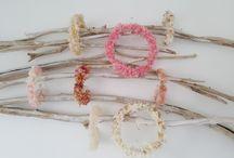 Coronas y tocados de flor preservada / Coronas y tocados de pelo hechos a mano por Cultura de flor