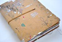 Art Journals ❅ / Document // Collage // Draw