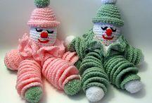 Crochet toys. Amigurumi