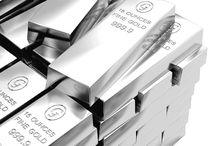 Silver/Platinum Bars / Silberbarren Platinbarren