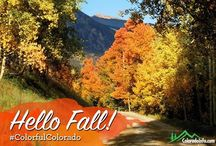 Fall Colors in Colorful Colorado - Colorado Info / Hello FALL! For those of you that haven't experienced fall in Colorado, it's a MUST! For those of you that have, welcome back! We invite you to share your fall photos with us below. After all, it's one of our favorite times of the year!