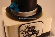 _top hat cake
