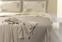 BIANCHERIA PER LA CASA / lenzuola, coperte, tende, tovaglie, asciugamano, ecc. sheets, blankets, curtains, tablecloths, towels, etc.. / by Arancia Arcobaleno