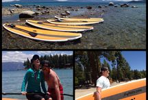 Stand Up Paddle Adventure Tours / Le Grand Adventure Tours Offers Epic Stand-Up Paddle-Board Trips in Truckee-Lake Tahoe, CA. / by Le Grand Adventure Tours