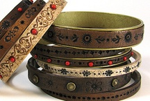 Leather bracelets and more