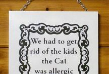 Paw Prints - Cats & Dogs / What would we do without cats & dogs in our family? This board is dedicated to all things cat & dog in honor of my own furry children.