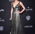 PORTIA DOUBLEDAY at Instyle and Warner Bros.  Golden Globe Awards Post-party in Beverly Hills