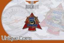 Aviator Gear Challenge Coins
