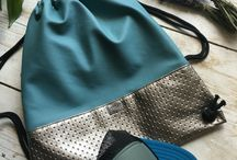mosko summer / Handmade unique designer bags