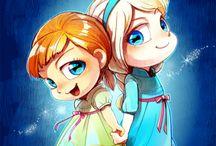 princesas chibi
