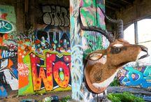 OG Impala / Faux Urban Taxidermy, sculpture, street art, Wild WestSide, Impala