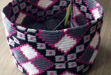 Tapestry Crochet Holders