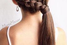 Πλεγμένα μαλλιά