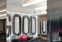 gym - interior design