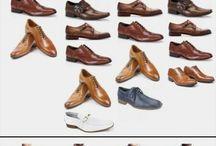 Combinaciones trajes con zapatos