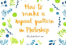 pattern making / For people interested in making their own patterns, these are some great tips