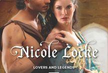 Her Enemy Highlander / Lovers and Legends Harlequin Historical Nicole Locke medieval romance book series