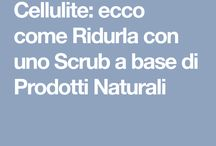 scrub per cellulite