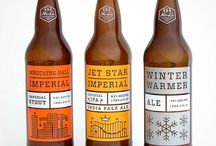 Beer Labels / Beautiful beer labels. Design and art on beer.