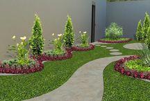 sueños en el jardin