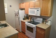 Kitchen Remodel Ideas / While showing property, my client asked about changing out counter tops or getting new appliances. Great question. Am creating a board all about the kitchen so there are ideas on what you can do - at any budget.
